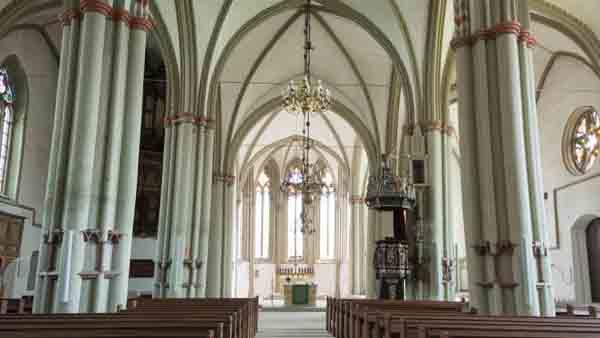 Lemgo Sehenswürdigkeit St. Marien